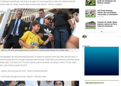 Jadson - Globo Esporte - 09/03/2014
