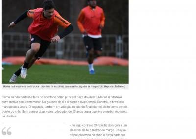Marlos - Globo Esporte - 06/04/2015