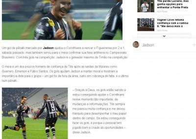 Jadson  - Globo Esporte - 29/06/2015