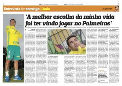 Dudu - Diário de São Paulo - 02/10/2016