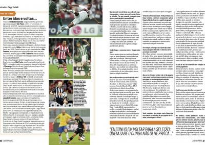 Diego Tardelli - Revista Placar - Fevereiro