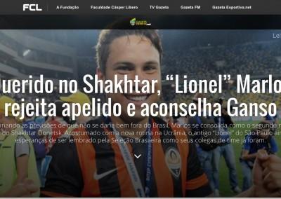 Marlos - Gazeta Esportiva