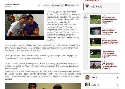 Jadson - Globo Esporte - 28/03/2015