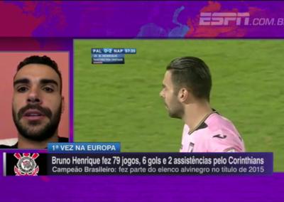 Bruno Henrique - ESPN - 12/10/2016