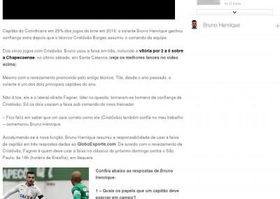 Bruno Henrique - Globoesporte.com - 11/07/2016