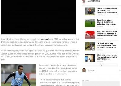 Jadson - Globo Esporte - 30/09/2015