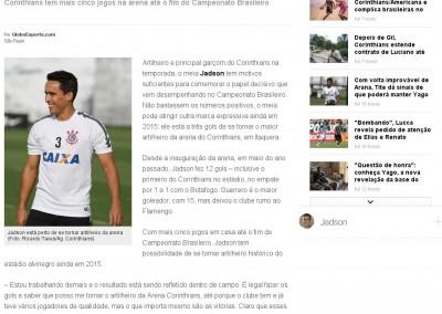 Jadson - Globo Esporte - 23/09/2015