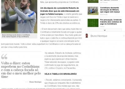 Bruno Henrique - Globoesporte.com - 07/08/2016