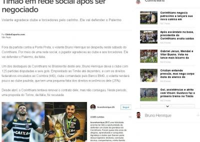 Bruno Henrique - Globoesporte.com - 27/08/2016