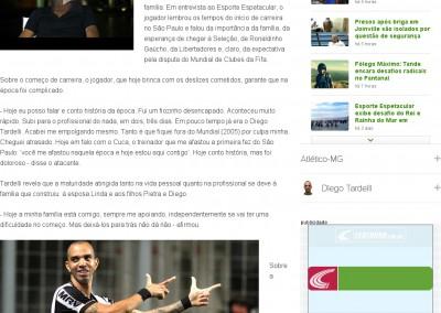 Diego Tardelli - Globo Esporte - 15/12/2013