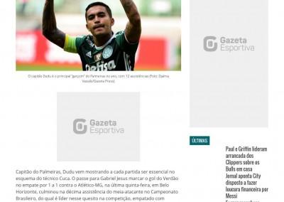 Dudu - Gazeta Esportiva - 19/11/2016