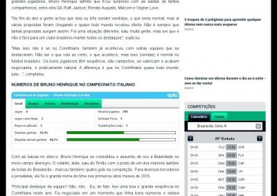 Bruno Henrique - Goal.com - 01/10/2016
