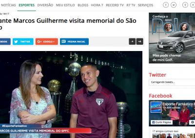 Marcos Guilherme - Esporte Fantástico - 02/12/2017