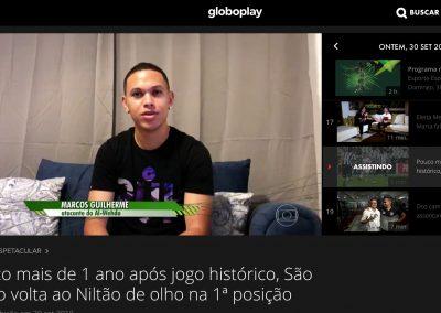 Marcos Guilherme - Esporte Espetacular - 30/09/2018