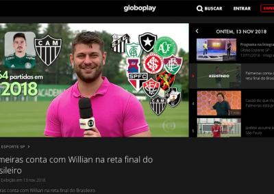 Willian - Globo Esporte - 13/11/2018