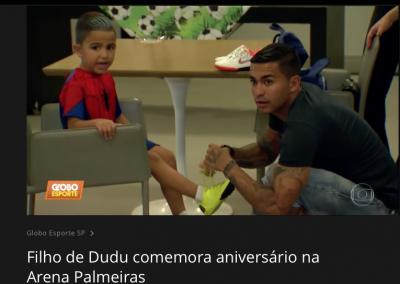 Dudu - Globo Esporte - 25/01/2019