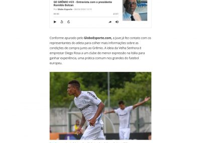 Diego Rosa - Globoesporte.com - 08/05/2020