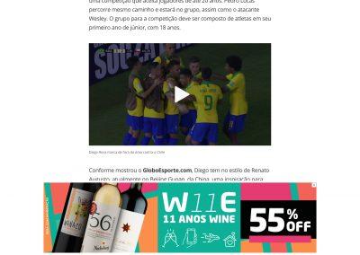 Diego Rosa - Globoesporte.com - 13/11/2019