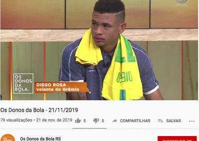 Diego Rosa - Os Donos da Bola - 21/11/2019