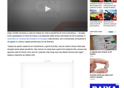 Diego Tardelli - CNN - 12/07/2020