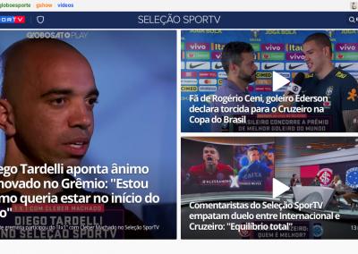 Diego Tardelli - Destaque Seleção Sportv - 04/09/2019
