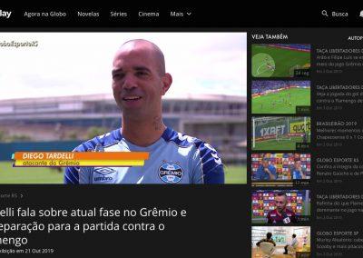 Diego Tardelli - Globo Esporte - 21/10/2019