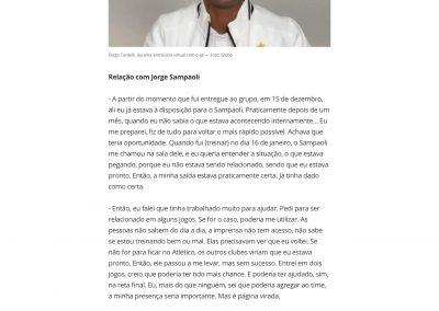 Diego Tardelli - Globoesporte.com - 11/03/2021