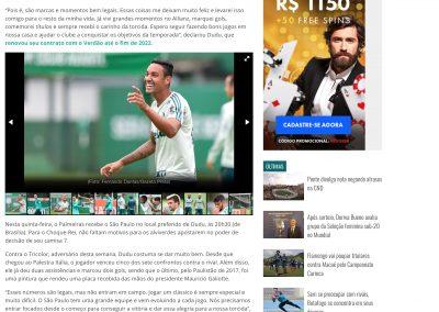 Dudu - Gazeta Esportiva - 07/03/2018