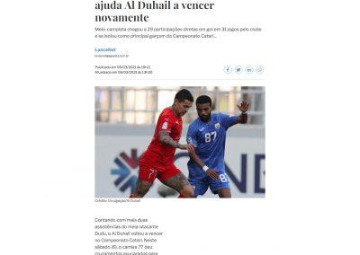 Dudu - A Gazeta - 06/03/2021