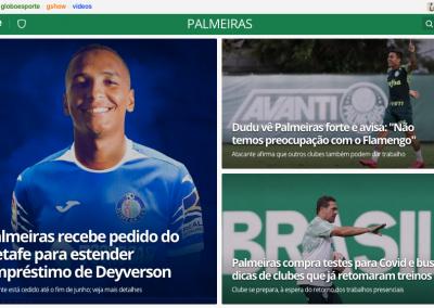 Dudu - Destaque Globoesporte.com - 13/05/2020