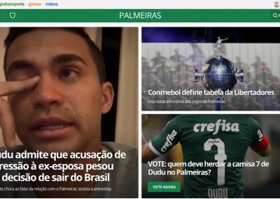 Dudu - Destaque Globoesporte.com - 20/07/2020