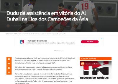 Dudu - Digital Esportes - 15/09/2020