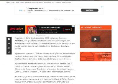 Dudu - Digital Esportes - 22/02/2021