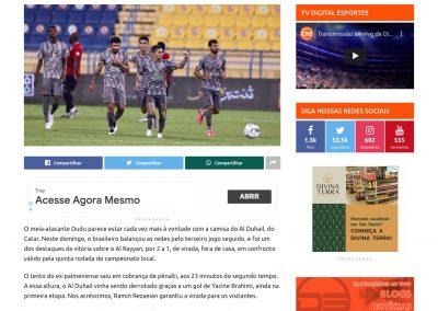 Dudu - Digital Esportes - 25/10/2020