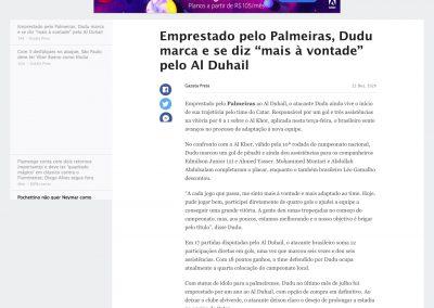 Dudu - ESPN - 22/12/2020