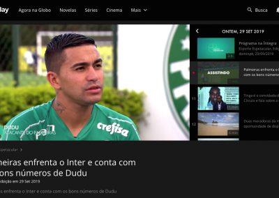 Dudu - Esporte Espetacular - 29/09/2019