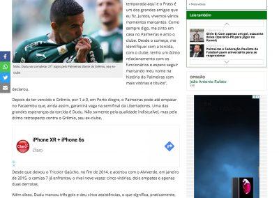 Dudu - Futebol Interior - 27/08/2019