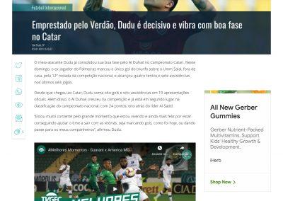 Dudu - Gazeta Esportiva - 03/01/2021