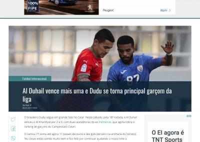 Dudu - Gazeta Esportiva - 06/03/2021