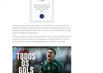 Dudu - Gazeta Esportiva - 25/10/2020