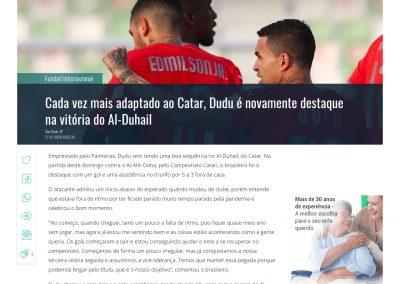Dudu - Gazeta Esportiva - 27/12/2020