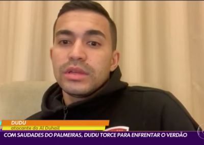 Dudu - Globo Esporte - 04/02/2021