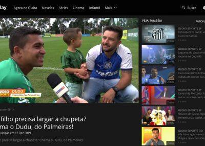 Dudu - Globo Esporte - 12/12/2019