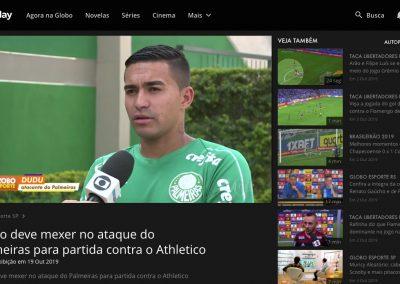 Dudu - Globo Esporte - 19/10/2019
