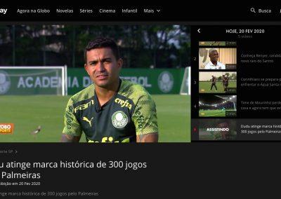 Dudu - Globo Esporte - 20/02/2020