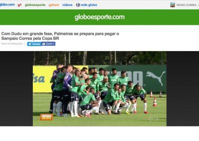 Dudu - Globo Esporte - 21/05/2019