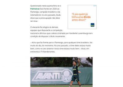 Dudu - Globoesporte.com - 13/05/2020