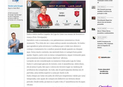 Dudu - O Fluminense - 01/04/2021