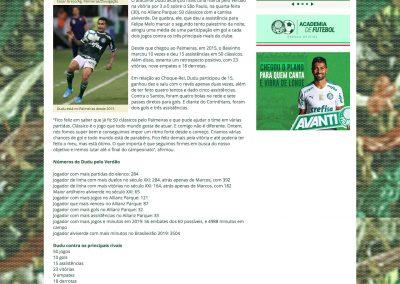 Dudu - Palmeiras - 31/10/2019
