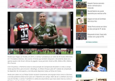 Dudu - GazetaEsportiva.com - 21/08/2018
